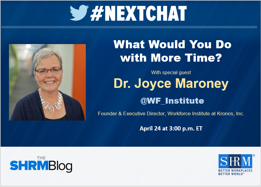 #Nextchat: What Would You Do with More Time?