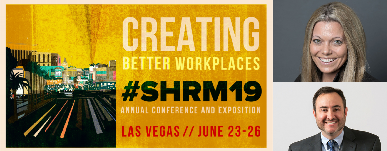 #SHRM19 Interview with Rebecca Peters and Andrew Greenfield | Blog.SHRM.org
