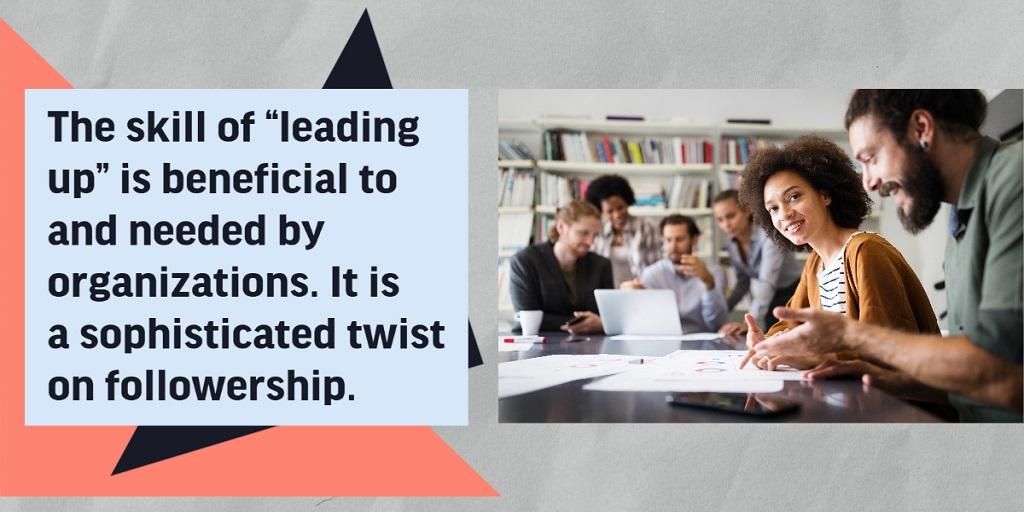 """HR: """"Leading Up"""" for Organizational Success"""